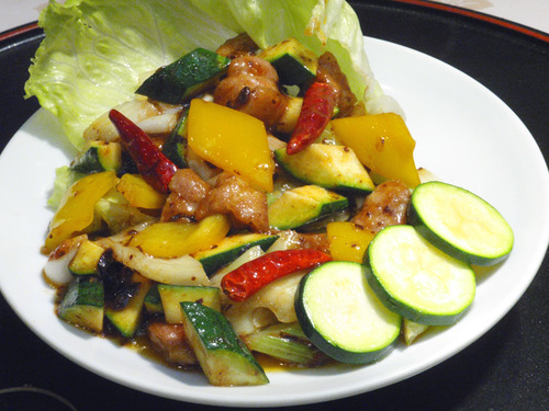 豚肉と夏野菜のエスニック炒め.jpg