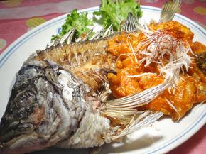 季節の白身魚のチリソース.jpg