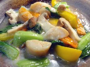 貝柱とチンゲン菜の炒め.jpg