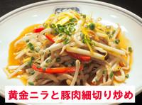 黄金ニラと豚肉細切り炒め.jpg