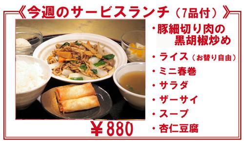 サービス 豚細切り肉の黒胡椒春巻.jpg
