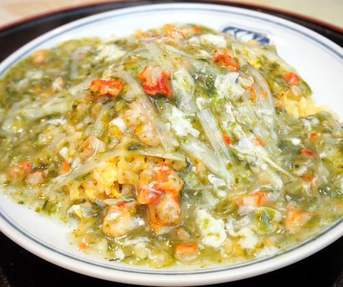 タラバ蟹と岩海苔のあんかけ炒飯のコピー.jpg