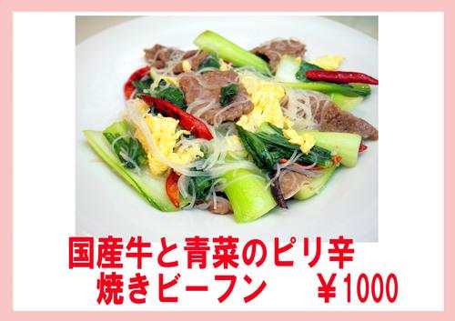 国産牛と青菜のピリ辛ビーフン.jpg